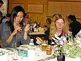 Zufällig war eine junge Chinesin Gast bei Neudorfers