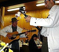 Jan und Markus bei ihrem Soloauftritt