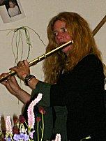 Irene mit Flöte